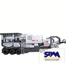 China top brand high performance portable stone crushing machine