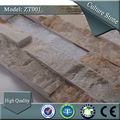 Sa- zt001 600x150mm auto adhesivo de basalto natural de la pared de piedra de cantera