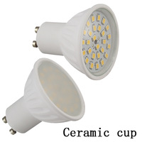 Ceramic led light bulb 27 smd 2835 5w 500lm replace 50w halogen lamp GU10