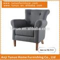Poltrona, accent, sólidos de madeira, móveis para sala, tb-7212