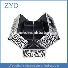 Wholesale makeup cases empty metal makeup case, ZYD-MK001