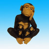 Resin Monkey Statues For Home Decoration