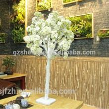 Mini table decoration flower branch artificial cherry latest wedding decor 2014