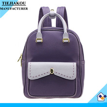 High Quality New Design School Backpack for Girl Simple Style