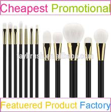 Best OEM cosmetic brush kits factory quality make up set with BJF goat hair brush set