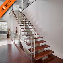 stainless steel handrail construction material /outdoor aluminum glass balustrade/glass railing