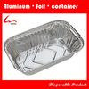 700ml Hot Sale Oblong Disposable Restaurant Use Aluminum Foil Food Storage Box