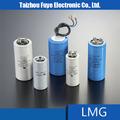 china top brand 150uf 250v condensador electrolítico de aluminio