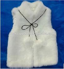 2015 oem service custom faux fur coat white