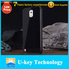 Wholesale Mobile phone acessories for Samsung Acrylic back cover Metal galaxy Note 3 bumper