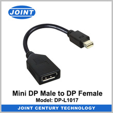 Top Quality Mini DP Male to DP Female Adapter for Macbook