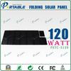 120w folding semi flexible solar panel for boat