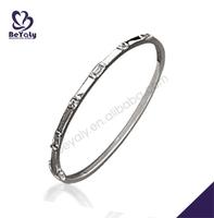 Leisure style simple silver fashion jewelry heavy metal bracelets