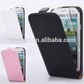 2015 shemax novo modelo de telefone celular caso de couro flip capa para samsung galaxy g8508s alpha