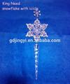 acrilico nuovo fiocco di neve con di natale ghiacciolo decorazioni esterne di appendere