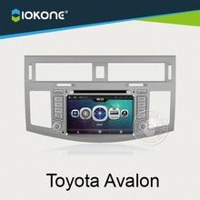 "7"" car DVD player GPS navigation with reversing camera for Toyota Avalon"