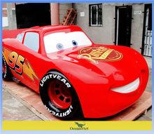 car statue for amusement park
