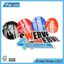 Low price new arrival custom vinyl cut sticker decals