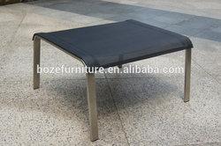 304# stainless steel footrest outdoor furniture / garden furniture footstep