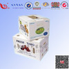 Two design corrugated carton double white packing