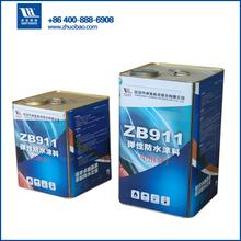 two component polyurethane concrete waterproof elastomeric roof coating