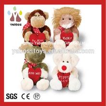 Lovely Stuffed Animal Valentine's Day Plush Toys Animals