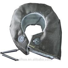 Racing Titanium Turbo Blanket In Air Intakes