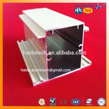 powder coated white aluminium structural profiles perfils de aluminium