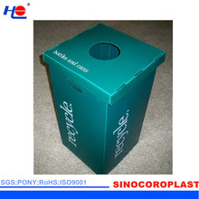 easy to clean and heat resistance plastic pp construction crate