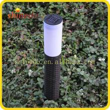 New design No wire solar rattan led lamp