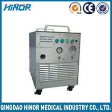 2000psi High pressure oil free compressor oxygen compressor oxygen cylinder refilling unit