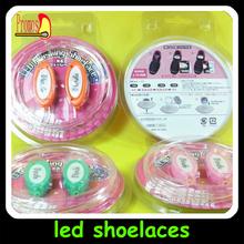 flash shoelace Light up EL shoelace victorian lights fashion gift led shoelace