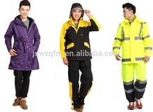 raincoat 190t nylon fabric raincoats