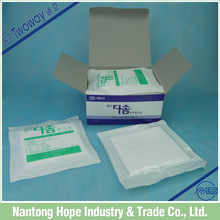 Soft and comfortable non-woven swab good for wound healing