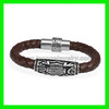 Top quality leather magnetic bracelet manufacturer