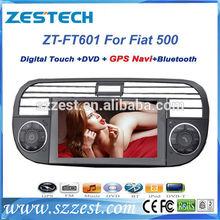 ZESTECH 2 din car autoradio for fiat 500 car radio dvd car multimedia system head units auto parts gps navis