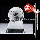Scholl football team trophy crystal trophy gift