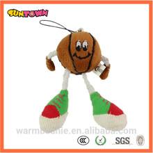 custom design stuffed plush basketball toy