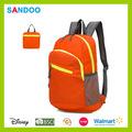 Atacado daypack china alibaba caminhadas ao ar livre mochila camping produto novo saco de viagem dobrável, custom nylon mochila de dobramento