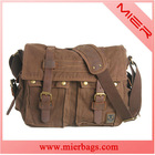 Men's Vintage Canvas School Military Shoulder Messenger Bag