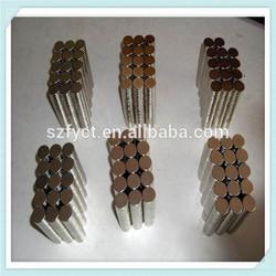 hot sale Black Neodymium Circular Magnet 10mm Diameter x 1mm Thickness for sale
