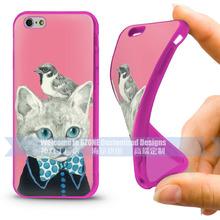 UV printing cover case for iphone 6 plus custom silicone cases
