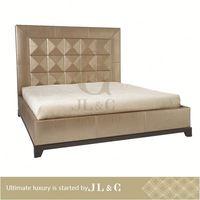 JB10-12 antique hand carved wood furniture in bedroom from JL&C furniture lastest designs 2014