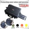 New Arrival Waterproof IP67 Heavy Duty Plastic Hard Cases for DJI Phanton, Durable Drone Case with wheels (544025)