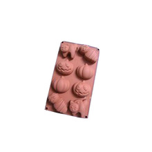 Halloween pumpkin food grade cake, chocolate silicone mould, candy mold
