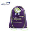 Cartoon Nonwoven Drawstring Bag , drawstring plastic bag