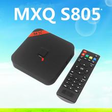 8GB nand flash HD Amlogic S805 Quad-Core Android 4.4 TV box MXQ Android TV box