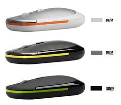 Gray Ultra-Slim Mini USB 2.4G Wireless Optical Mouse C1128GY Wholesale