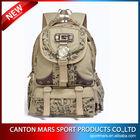 SP340 Big Printed khaki Canvas Backpacks/Rucksack Wholesale