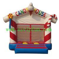 Customized unique inflatable sea world house castle